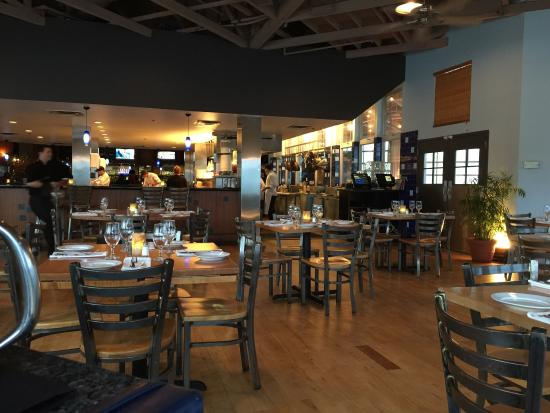 One Fish Two Interior View Of Open Kitchen