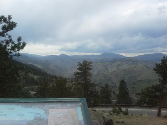 Golden, CO : A view from the gravesite and museum