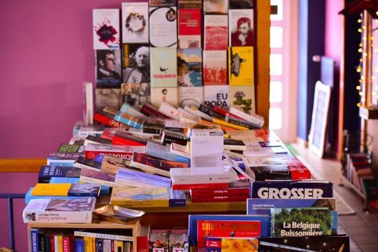 Café littéraire Le Bovary