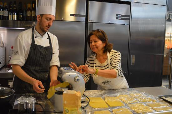 Bethesda, MD: Cooking class in Florence at the Lorenzo de Medici Cooking School