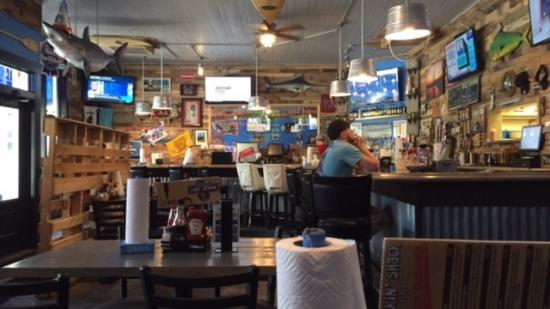 Summerville, Carolina del Sur: Inside the Shuckin' Shack