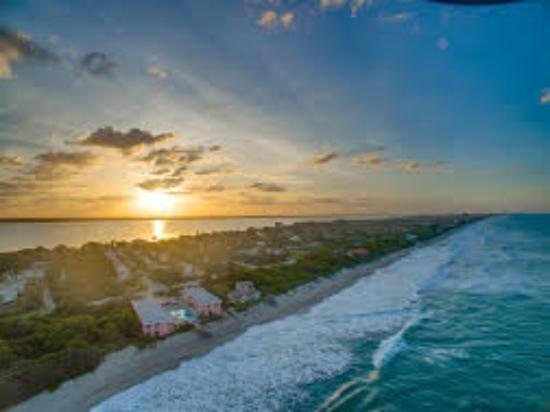 Melbourne Beach, فلوريدا: view