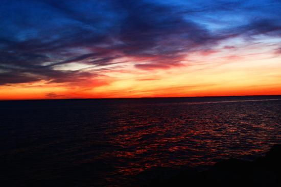 Tilghman, MD: Sunset