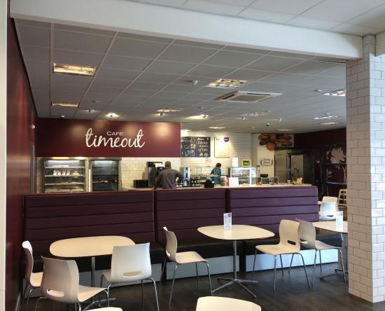 Cafe Timeout  Home Bargains Training Store Cafe  internal. Home Bargains Training Store Cafe  internal    Picture of Cafe