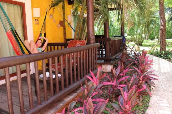 iberostar cozumel balcon hamaca y jardin de nuestra habitacin 7502 - Hamaca Jardin