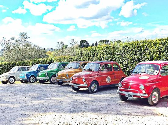 our wonderful fiat 500 picture of 500 touring club florence tripadvisor. Black Bedroom Furniture Sets. Home Design Ideas