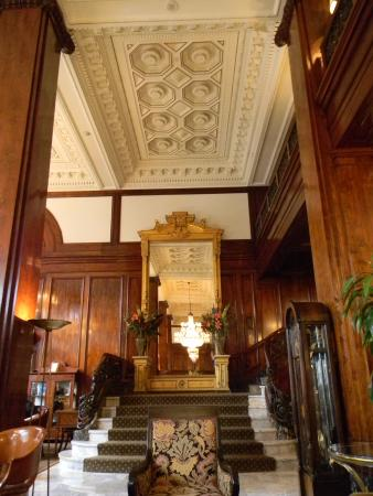 Benson Hotel: Black walnut paneling from the Zar of Russia private forest in 1912