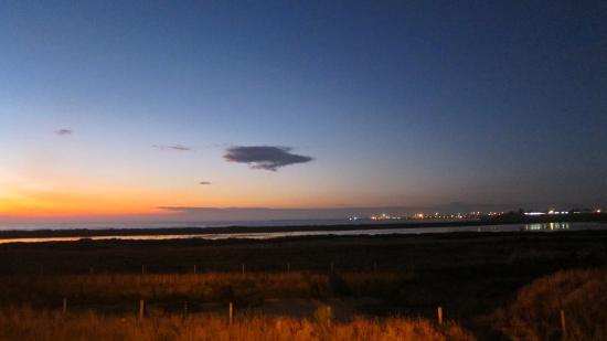 Timaru, Nowa Zelandia: Caroline Bay - dusk in making
