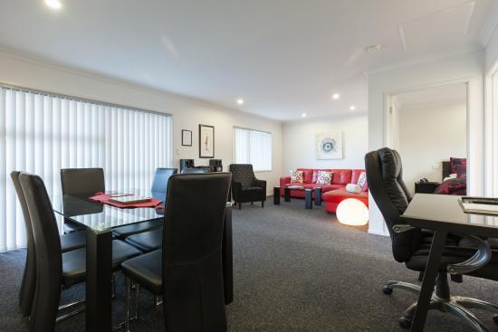 Tokoroa, Nieuw-Zeeland: Executive One Bedroom Lounge