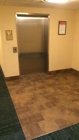 Candlewood Suites - Nanuet: Elevator, when I walk out the room. Ok with me.