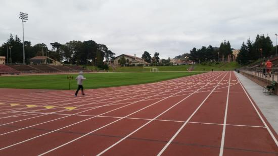 Kezar Stadium: view from the east end