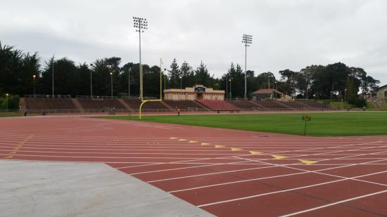 Kezar Stadium: view from the west end