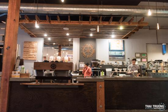 Order Counter Picture Of Flywheel Coffee Roaster San Francisco Tripadvisor