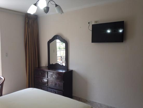 Hotel el Parador: Detalle de la habitación.