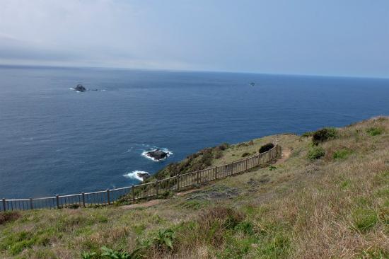 Cape Komo Observatory Park : 海の碧と空の青が溶け込んでいます。