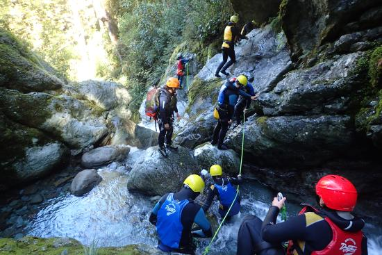 Queenstown, Nueva Zelanda: getting ready for a jump