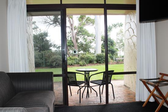 Mount Tamborine, Αυστραλία: View from a room downstairs
