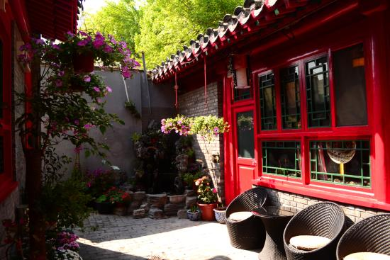 Beijing 161 Lama Temple Courtyard Hotel Photo