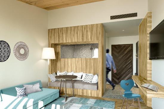 Rubner's Hotel Rudolf: Suite Menschen