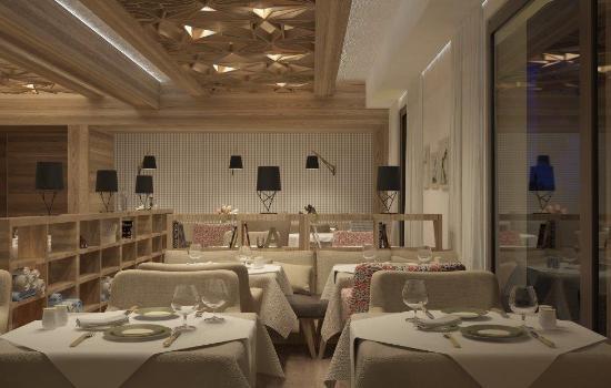 Rubner's Hotel Rudolf: Restaurant