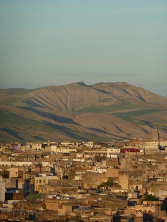 Dar El Ouedghiri: vue de la terrasse