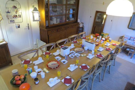 Brin de Palmier: Le petit déjeuner