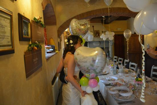 Capolona, Italia: интерьер ресторана