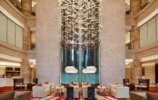 Lobby Lounge Courtyard Hangzhou Qianjiang