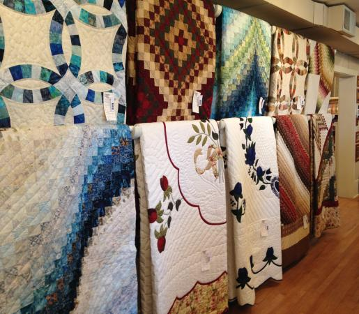 Intercourse, PA: Stunning selection of handmade quilt for sale.