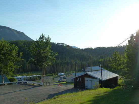 Iskut, Canadá: The RV park section
