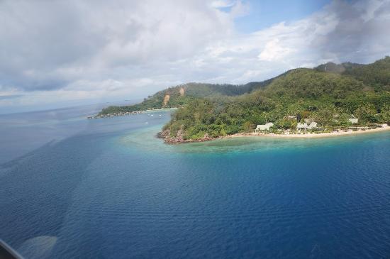 Likuliku Lagoon Resort: LikuLiku с высоты птичьего полёта