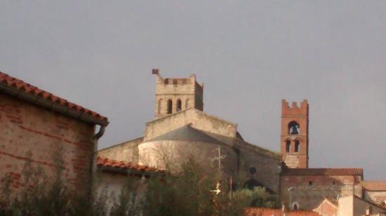 Elne, Francia: le cloître et la cathédrale