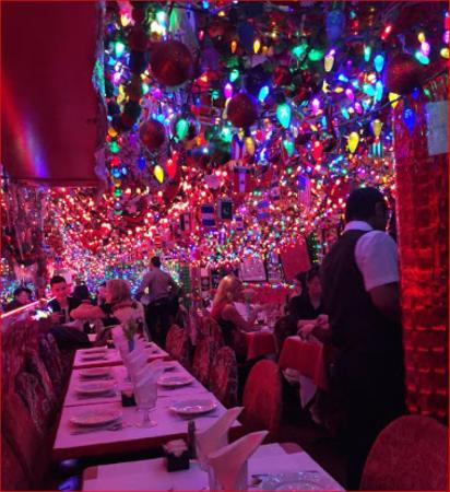 View from the rear looking forward panna ii picture of - Panna ii garden indian restaurant ...