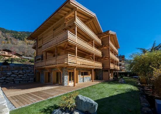Le Chable, Switzerland: Bâtiment extérieur