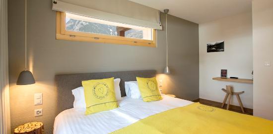 Le Chable, Switzerland: Chambre balcon