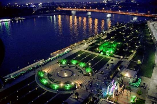 Image result for ahmedabad riverfront night