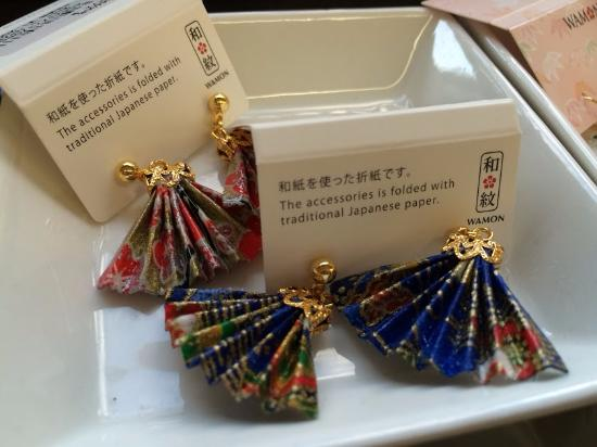 The Earrings At The Kyoto Handicraft Center Were My Favorite