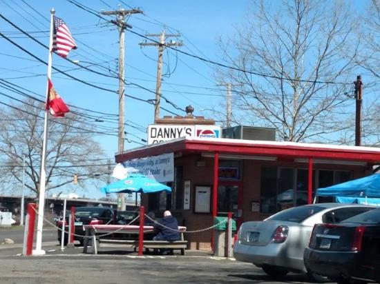 Danny's Drive-In: I put this photo on Facebook and received plenty of likes from friends old and far away.