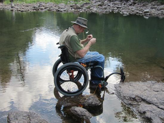 Elk Springs Resort: WOUNDED WARRIORS EVENT IN AUGUST, EVERYONE FISHES
