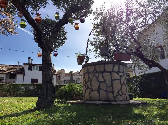 Villa Verde: un angolo del nostro giardino...