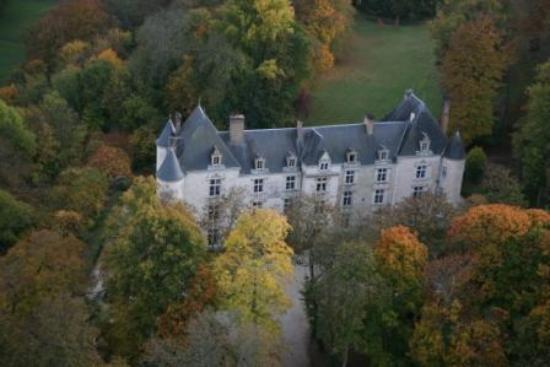 Domaine de Villeray : villeray vu du ciel