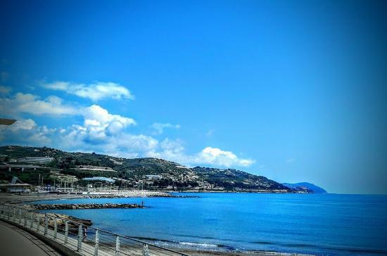 Baia dei Gabbiani: Panorama