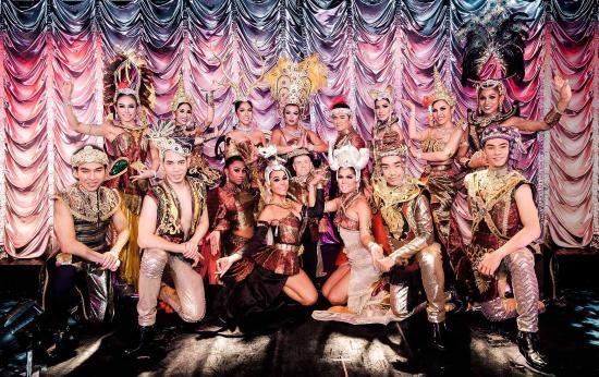 Congleton, UK: The Lady Boys of Bangkok: Forever Yours...x - 2016