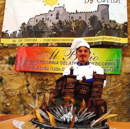 Carini, Italia: Grande pasticciere Via corso Italia, 125a/ 125b  0918669430