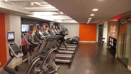 salle de sport - picture of row nyc hotel, new york city - tripadvisor