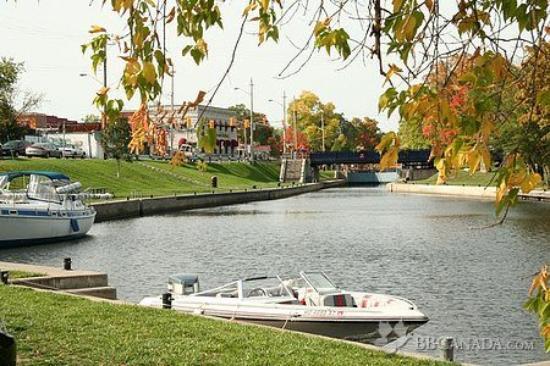 Bobcaygeon, แคนาดา: Lock 32 of the Trent-Severn waterway