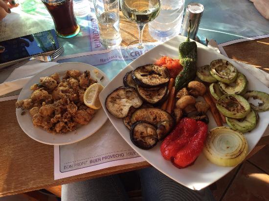 Bar restaurant cala canta ciudad jard n fotos n mero for Restaurante jardin mallorca