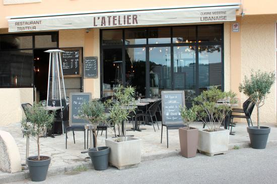 L\'Atelier, cuisine moderne libanaise - Bild von L\'Atelier, Antibes ...