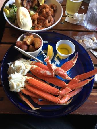 crab legs picture of steamers seafood company hilton head rh tripadvisor com