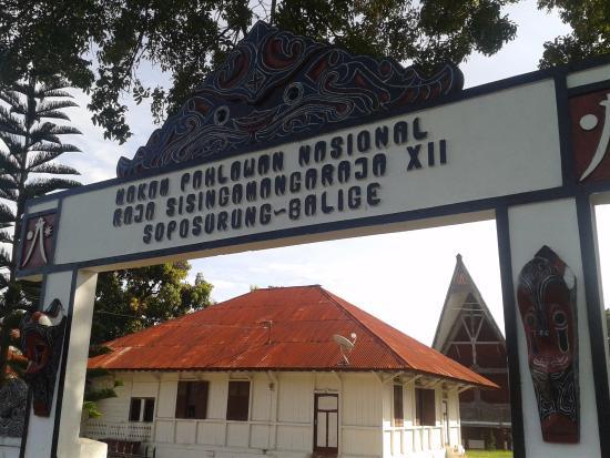 Samosir Island, Indonesia: Tomb of Raja Sisingamangaraja XII